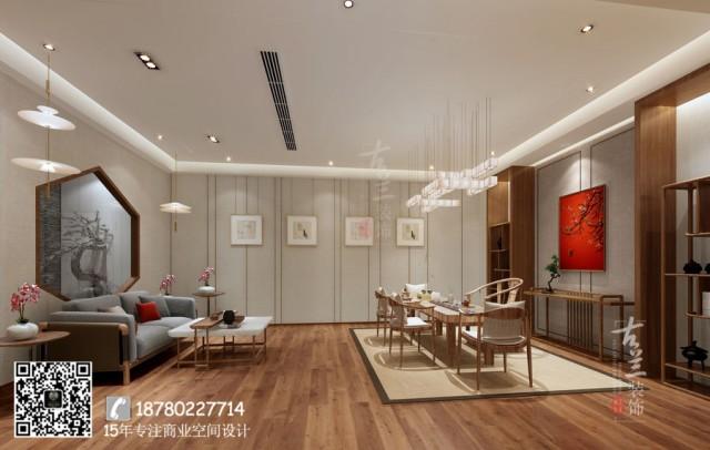而第二楼更多的是休息品茶的好地方!二层比第一层多了一股清晰淡雅的感觉,设计师要让顾客体验到真正宁静的感觉!二楼的每个房间给人的感觉差不多,不同之处在于细节,似曾相似的感觉油然而生。