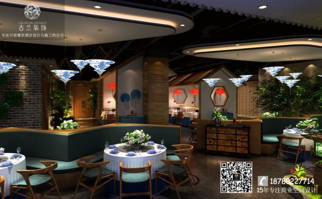 空间以水泥木头为主,个性的灯具,木质的座椅,整个室内呈现出一个视野开阔的开放性共享空间,既文艺又复古。