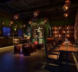 四川达州酒吧设计公司-寒舍酒馆装修