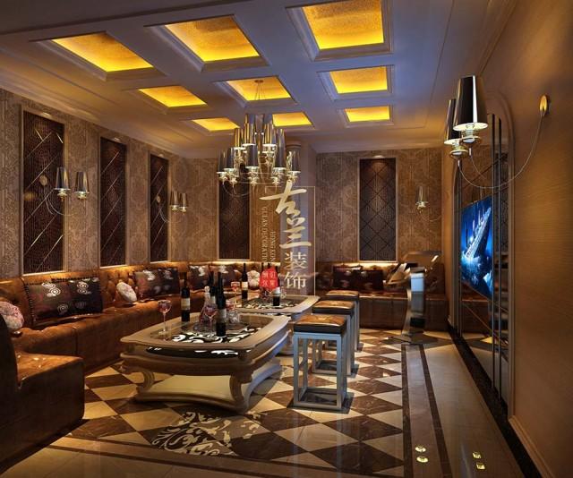 四川乐山酒吧设计公司-尚尚慢摇吧装修效果图