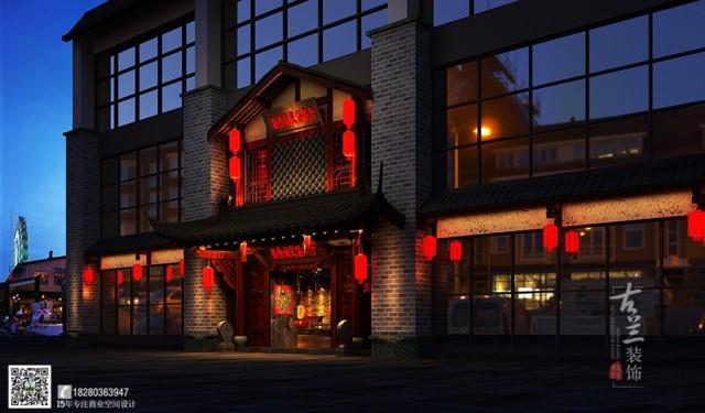回归地道的民俗中餐厅设计-成都专业中餐厅设计公司