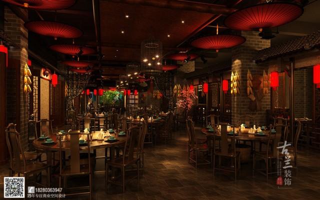 湖北中餐厅设计