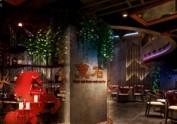 成都特色音乐餐吧(厅)装修|餐厅设计