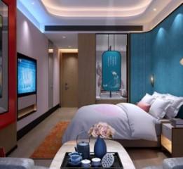 商洛精品酒店设计装修公司-悦廷栖居
