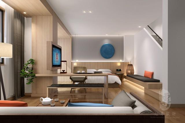 度假酒店大堂的设计,一定要有亮点,让客人一进入酒店就能感受到酒店的气质。客房要有序,各功能设施要合理,色彩搭配要尽量使用中性色,与周围的环境相融合。