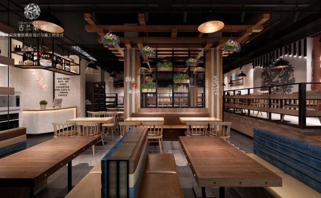 成都餐厅装饰公司-快餐厅设计成都餐厅装饰公司-快餐厅设计