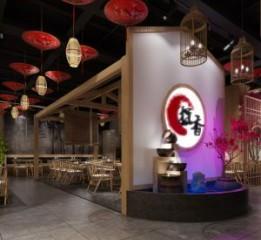 成都专业中餐厅设计公司-华阳炭香烤
