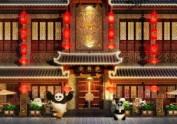 汉中中式火锅店设计装修图之泉州川行