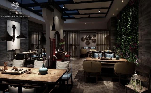 设计说明:禅是一种境界,茶是一种生活,两者融合而成的中国禅茶文化,以正、清、和、雅为特点,让人在这里感受到心与茶的契合,心与心的相通。掬茶在手,馨香四溢;禅意萦绕,淡然随心。静庐以禅茶文化为主题,坐落于济南核心商圈龙奥9号。天然的材质,利落的线条,来渲染空间的文化意蕴,让人达到一种宁静致远的状态。古色古香的家具不止是陈设,精巧别致的茶具、佛像、摆件也不止是装点,而是通过这一系列古韵十足的中式元素,达到一种净化浮躁、凝神静气的作用,低调地演绎出空间的禅意风骨。身居都市丛林,如能辟得一处禅意空间,品茗习字、焚香读书,让身心得到彻底的舒展,必不作繁华之想。