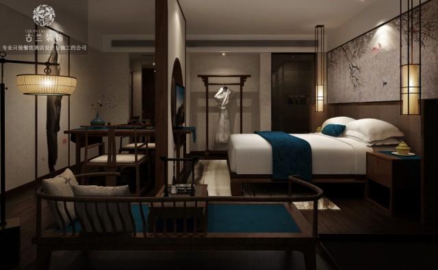 珠海主题酒店设计公司,珠海主题酒店装修效果图