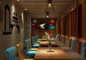 大连专业餐厅设计装修公司案例-冒里