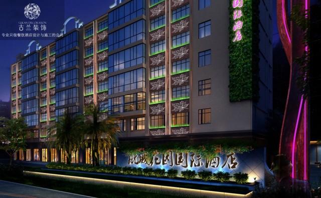 项目名称:昆明航城国际花园酒店 项目地址:云南省昆明市官渡区长水航城