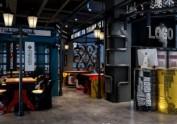 成都餐厅设计,纯工业风餐厅设计-原木