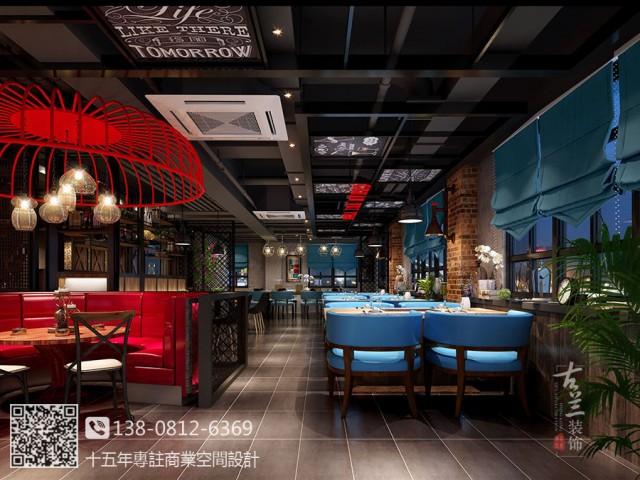 成都专业海鲜餐厅装修设计公司|大连川味源海鲜餐厅装修设计图