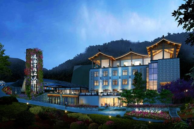 柳州五星级酒店设计公司|花田里精品民宿