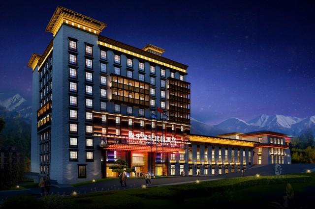 项目名称:康定锅庄温泉度假酒店  项目地址:甘孜自治州康定县榆林新区