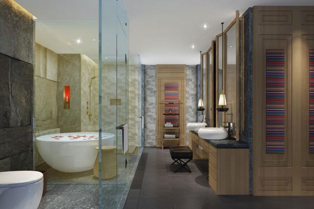 湛江五星级酒店设计公司 康定锅庄温泉度假酒店
