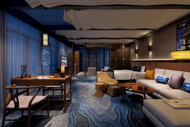 湛江五星级酒店设计公司|花红别样精品酒店