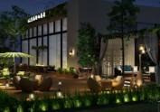 兰州餐厅设计公司-邛崃66号花园餐厅