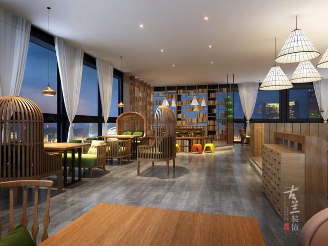 兰州餐厅设计公司-邛崃66号花园餐厅设计案例赏析