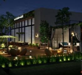 贵阳餐厅设计公司-邛崃66号花园餐厅
