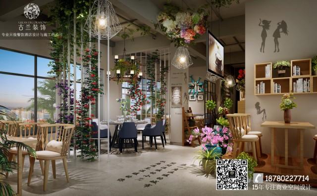 餐厅悬挂着各种花盆绿植,花坊故事就是这样一家用鲜花绿植营造的美食天堂。或许,在这里,美食早已超越了品尝的含义,而更注重一种浪漫的情调、一种时尚的生活诠释。