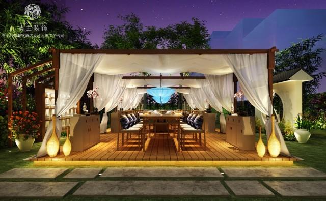 成都专业花园餐厅设计公司