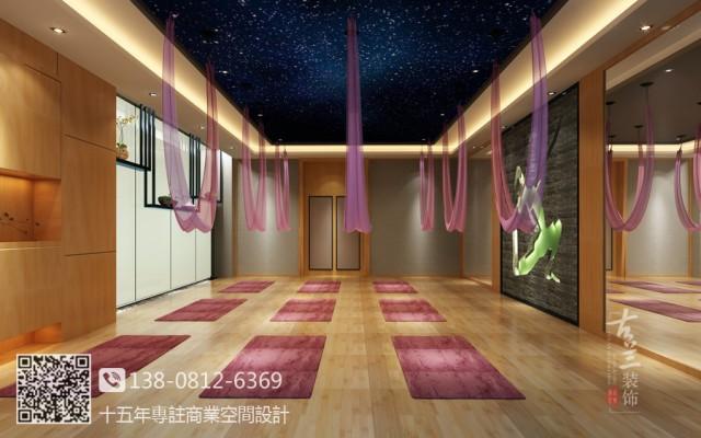 成都健身房装修设计公司|鹭岛国际奥宇健身房设计图
