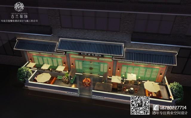 """高丽轩坐落在南充1227购物广场,设计以""""韩国文化体验""""为中心展开,突出""""文化、格调、品牌、专业、体验""""等五大特色,塑造了韩式烤肉店的新标杆。"""