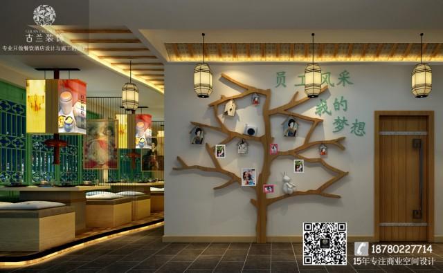 空间的创作基点为:韩国的建筑特点、装修风格的特殊元素和符号、代表颜色、家具的特点、饰品特点、旅游产品特点、食品特点。