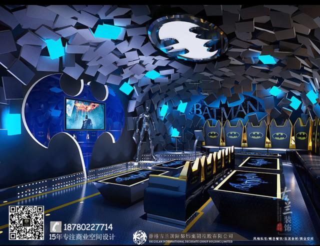 河南商丘专业ktv设计公司哪家好-重庆Sonar 主题Ktv装修效果图