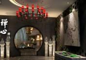 新中式禅式风格茶楼设计|成都专业茶
