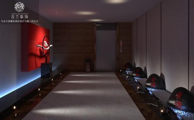 休息室可以感受到昆明酒店设计公司对细节的追求,把古典风精致化,也让顾客进入休息室就能观、能赏、能互动与体验。