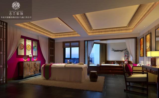 建筑映射出古蜀国地区的建筑风格,拥有独特的建筑外观,诗情画意存于其中,通过色彩点缀空间灵魂,实现天人合一。