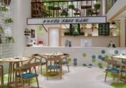 成都小资文艺型咖啡馆装修|成都专业