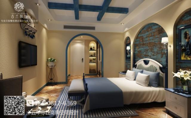 为了加强酒店外观设计的竖线条设计感,就让八层的酒店建筑高度从简洁中寻找变化,让整个酒店有整体线条节凑,另外为了彰显酒店具有特色的主题设计风格,就在酒店的建筑顶部增加了圆形造型,让整个建筑的外观更加完美协调,使得建筑的特色主题风格与时尚完美结合。