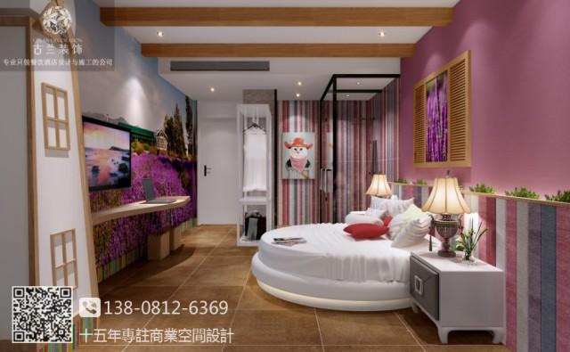 南充营山美庐主题酒店设计-古兰装饰公司