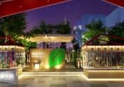 龙泉潮汕花园餐厅设计|成都专业花园