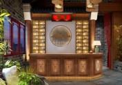 重庆唇香阁火锅店设计 湖南永州中式