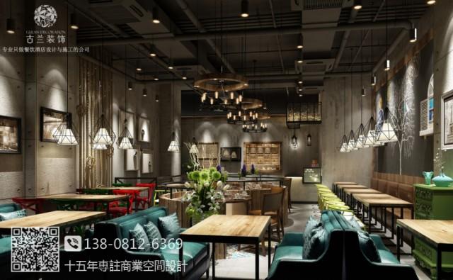 沈阳餐厅设计装修公司 小砂锅餐厅设计图