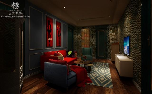 等电梯本是一件无聊的事,设计师将一个小型的艺术空间搬入酒店前厅,让客人在等待的时候也能有放松的空间,降低的客人的等待感受。