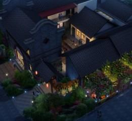 成都度假酒店设计公司-龙泉花涧客栈