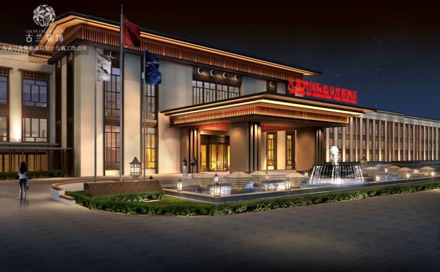 九黄湾国际温泉度假酒店是红专酒店设计公司的近期作品,该作品是整个阿坝州的第一个真正的国际级的温泉度假酒店,也是全世界单体最长的酒店建筑。