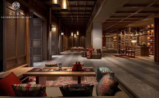 松潘九黄湾国际温泉度假酒店装修效果图-福州酒店设计公司