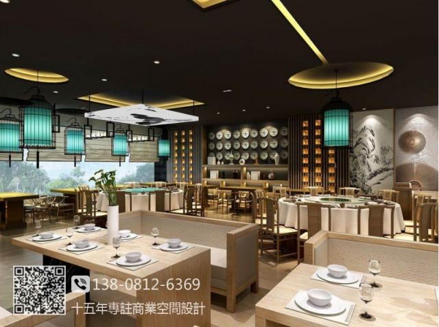 成都中餐厅装修公司|舒氏家宴中餐厅设计图
