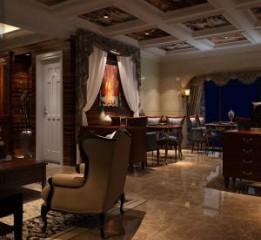 成都中餐厅装修设计图|中海众合宴餐