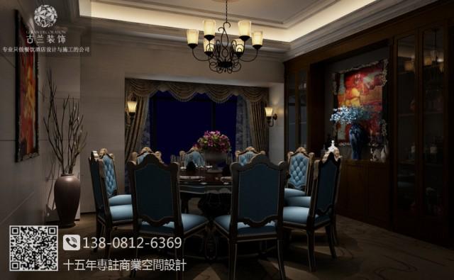 成都中餐厅装修,成都中餐厅设计.成都中餐厅装修设计图 中海众合宴餐厅案例