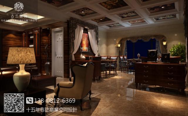 成都中餐厅装修设计图 中海众合宴餐厅案例