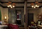 汉中酒店装修设计公司|龙泉花涧客栈
