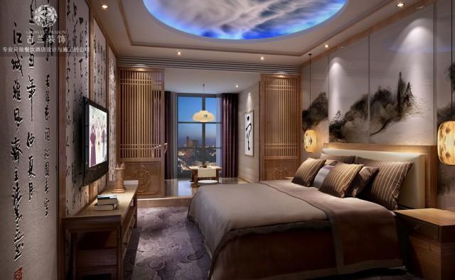 丽水酒店设计装修-成都茗山居主题酒店